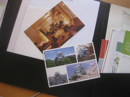 The Westin Nagoya Castle: ポストカード
