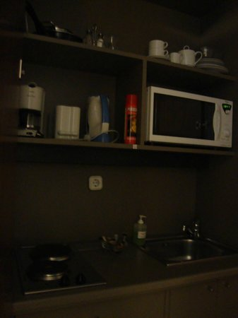 Adina Apartment Hotel Budapest: Kitchenette