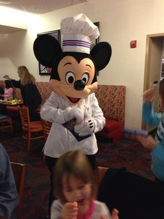Disney's Beach Club Resort: Mickey Mouse rockin the house!