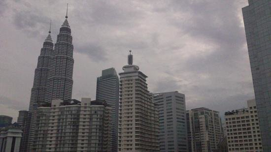 Concorde Hotel Kuala Lumpur: from 19th floor