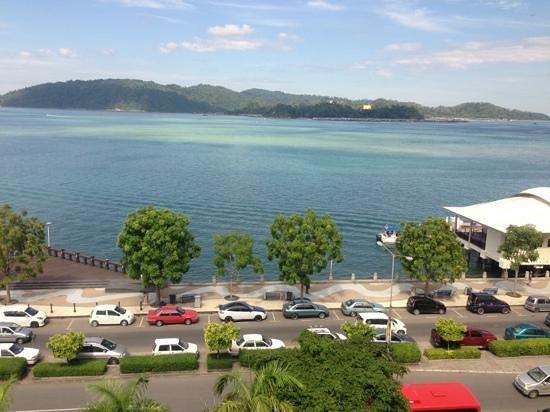 Hyatt Regency Kinabalu: My ocean front view:)