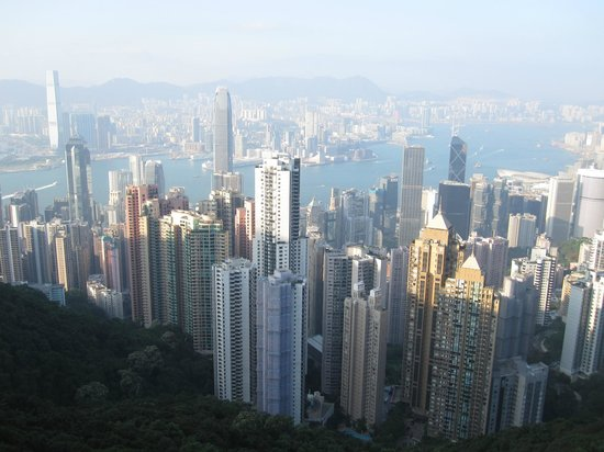 Marco Polo Hongkong Hotel: The peak