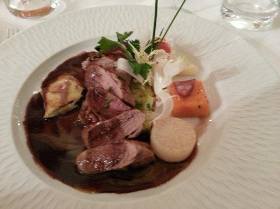 Najeti Hotel Chateau Clery: Pigeon