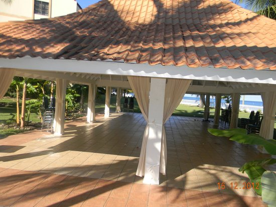 Radisson Grenada Beach Resort: The pavillion