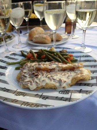 Trobador Ferran: flounder and wine... perfect lunch!