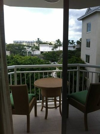 Hyatt Centric Key West Resort and Spa: Side balcony