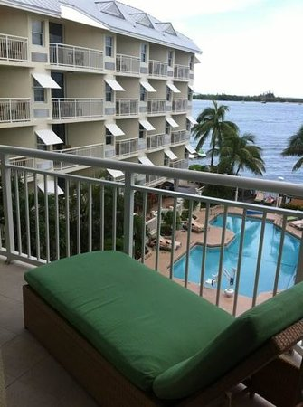 Hyatt Key West Resort and Spa: Front balcony