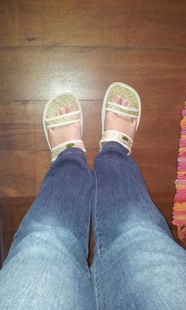 Borneo Highlands Resort: Slippers