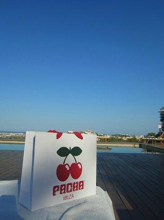 Hotel Rural Es Trull de Can Palau: プールからの眺め