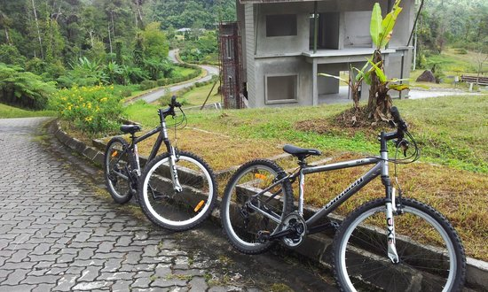 Borneo Highlands Resort: Bicyles RM20 for 2hours