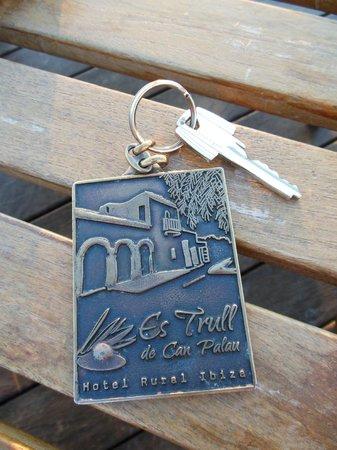 Hotel Rural Es Trull de Can Palau: ルームキー