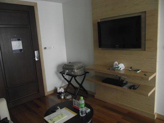 อเดลฟี แกรนด์ สุขุมวิท บาย คอมพาส ฮอสพิทัลลิตี้: Cosy room