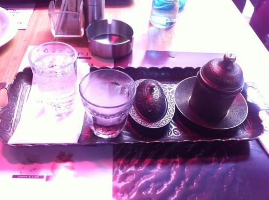 Esmer Cafe: very tasty turkish coffe ��