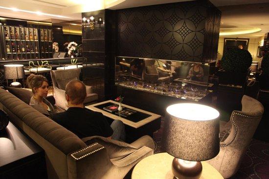 Mirilayon Hotel: fireplace