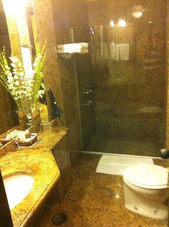 Hotel Lancaster: banheiro