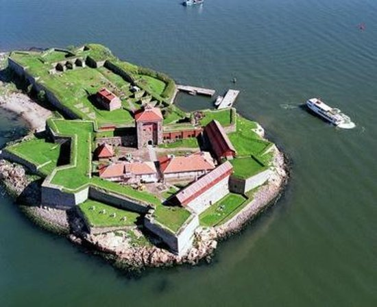 Göteborg, Zweden: The fortress has a café with home bakery, sandwiches and a lighter lunch menu.