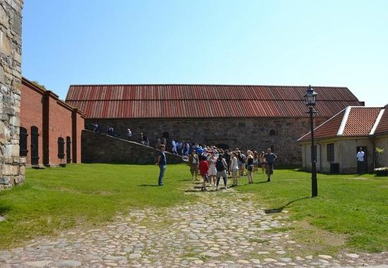 Alvsborgs Nya Fastning: Guided tour around Älvsborgs fortress.