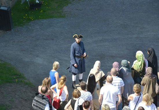 Alvsborgs Nya Fastning: Join one of the guided tours on the small island.