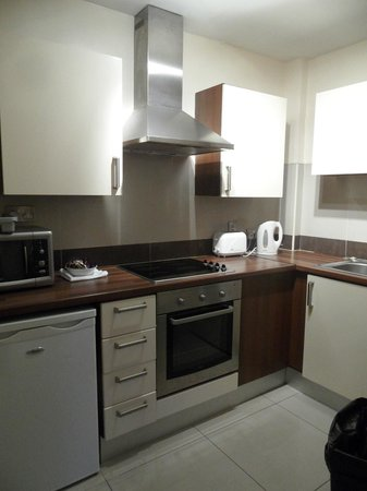 Staycity Serviced Apartments Christchurch: Kitchen