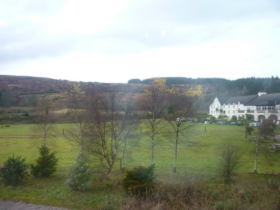 Auchrannie Resort: View from room 22