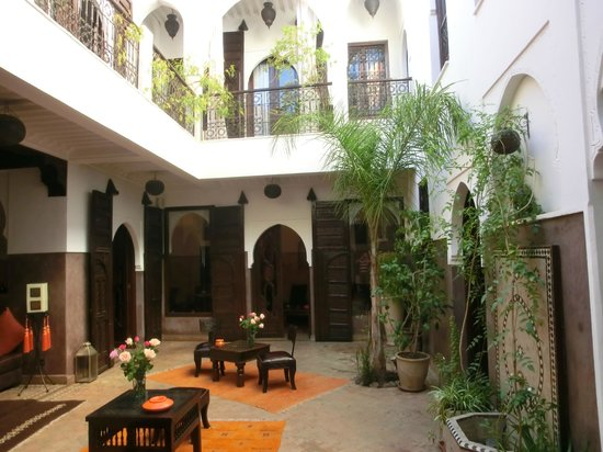 Riad Aya : le patio...