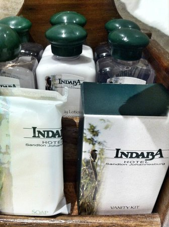 Indaba Hotel: Bathroom Supplies