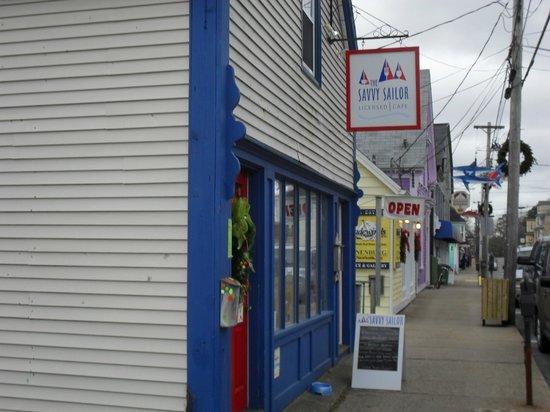 The Savvy Sailor: Entrance off Montague Street