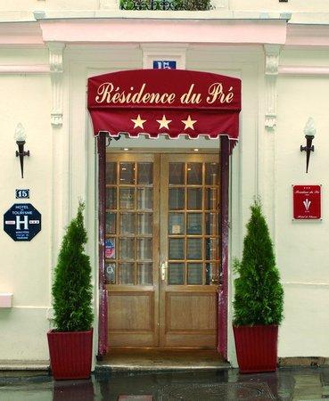 Residence du Pre: Résidence du Pré - Entrance