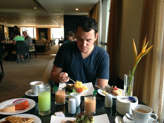 Banyan Tree Bangkok: breakfast