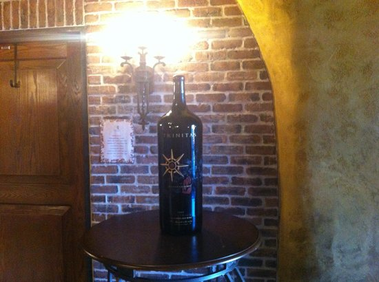 The Meritage Resort and Spa: big bottle