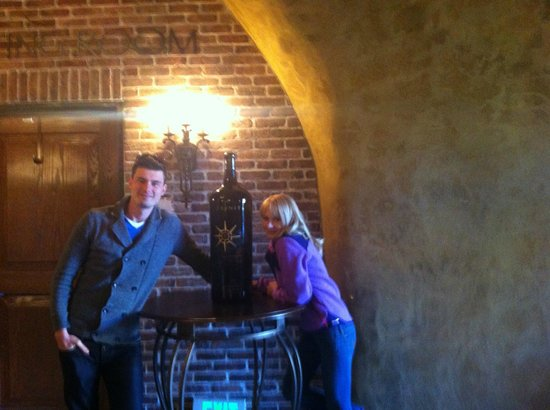 The Meritage Resort and Spa: wine cellar