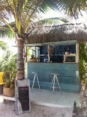 Be Tulum Hotel: the smoothie bar