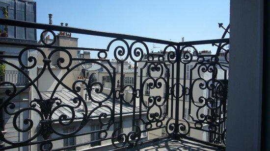Hotel 29 Lepic: Vue sur Toits de Paris