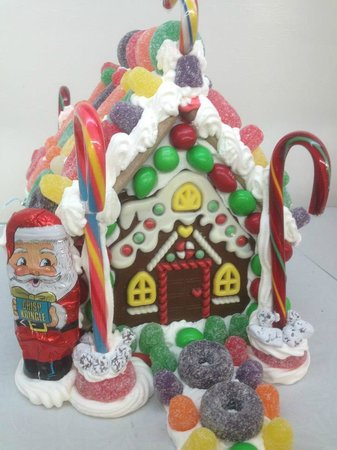 Holtman's Doughnut Shop: Gingerbread House