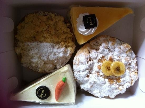Kanishka Villas: yummy treats from bali deli