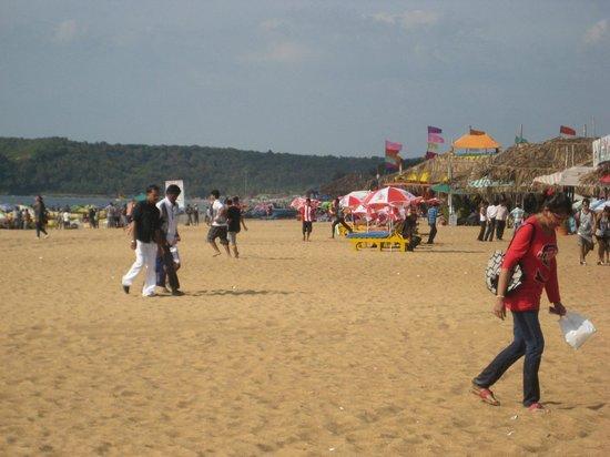 Lazylagoon Sarovar Portico Suites: Calangute beach