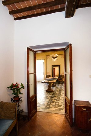 Dimora San Domenico: reception/sala relax