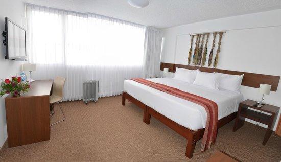 Tierra Viva Puno Plaza Hotel: Superior Doble Room - King Size Bed