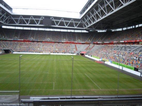 Tulip Inn Dusseldorf Arena : View from restaurant