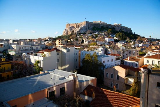 Central Hotel Athens: panoramic