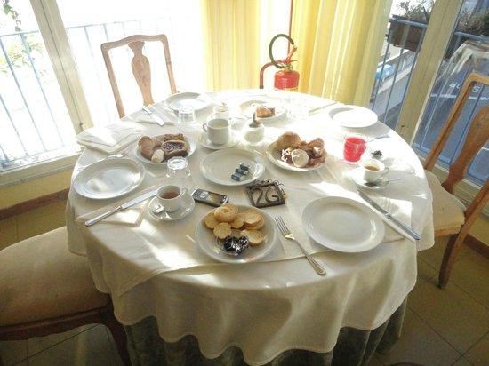 Hotel Palladio : il tavolo colazione