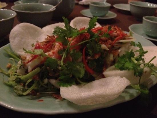 Tri season salad at nuoc