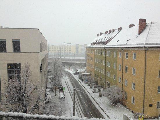 Atel Hotel Lasserhof: vista dalla camera