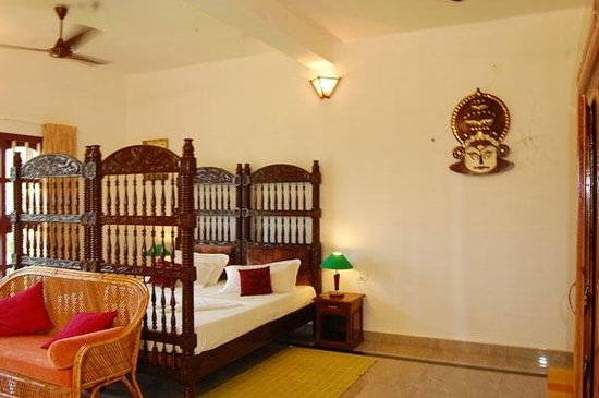 Varkala SeaShore Beach Resort: Room inside view