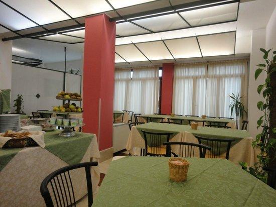 Hotel Ericevalle : la sala colazione