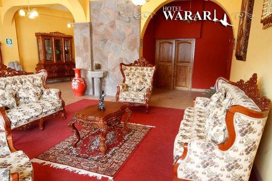 Hotel Warari: Recepción