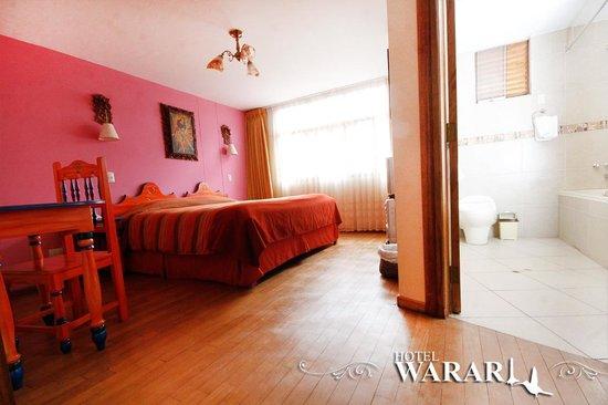 Hotel Warari: Habitación matrimonial Cusco