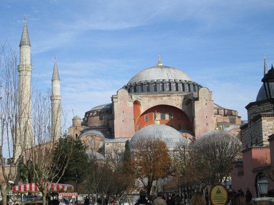 Noahs Ark Hotel Istanbul: Great view of the many mosques in Istanbul!