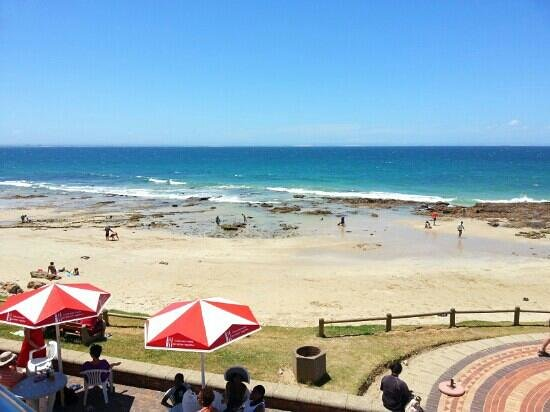 Blue Waters Cafe: view from the cafe