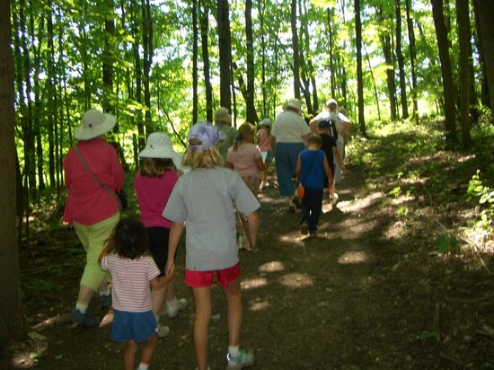 The Wilderness Center: Hiking on the Trails
